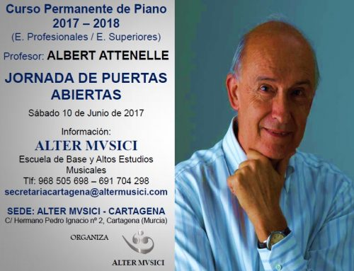 Albert Attenelle Jornada de puertas abiertas