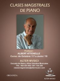 CARTEL PIANO DE ALBERT ATTENELLE