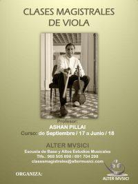 CARTEL VIOLA DE ASHAN PILLAI
